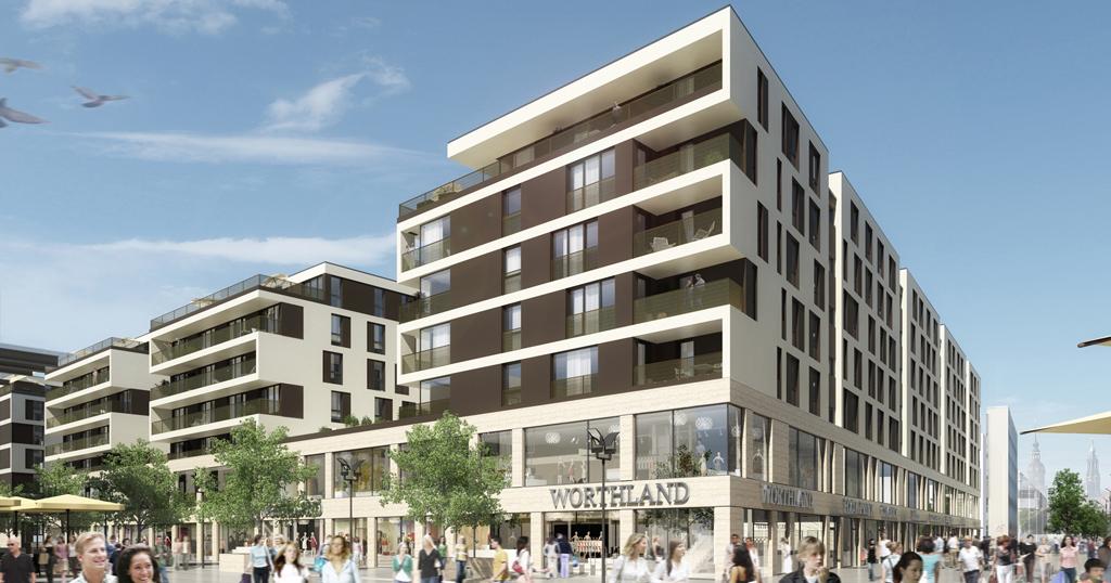 Architekturdarstellung im Auftrag von mpp Meding PLAN + PROJEKT GmbH Hamburg