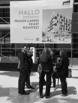 Richtfest Prager Carrée | Juli 2015