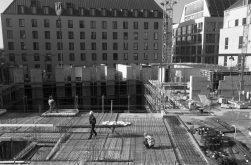 Baustelle Altmarkt MK 4 im April 2019