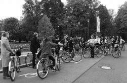 Ja, mir san mit´m Radl da! Eine Fahrradtour durch Dresden.