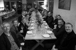 Ein großes Team, ein langer Tisch! September 2019 in Dresden